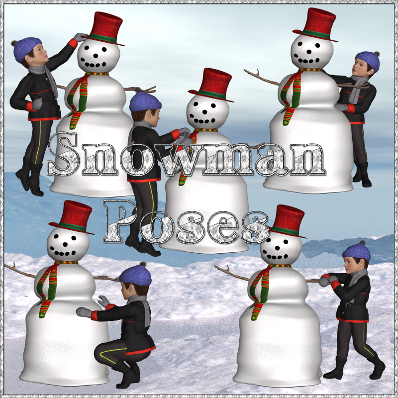 Snowman Poses